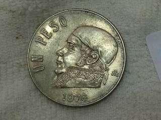Mexico Un Peso 1976