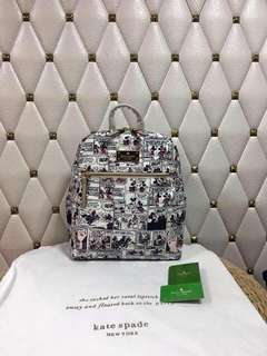 Mickey Mouse Printed Backpack