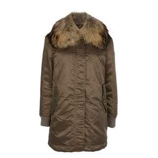 TATRAS - 毛領光滑布料羽絨大衣