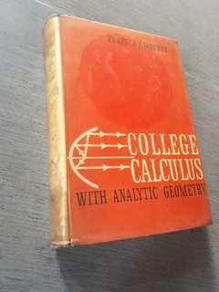 College Calculus with Analytic Geometry