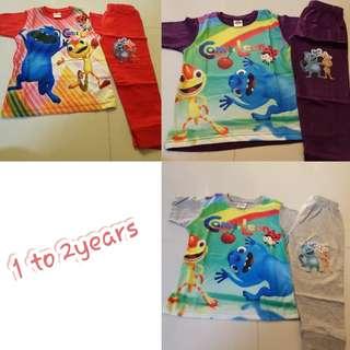 Cam n Leon Pyjamas set for kids/ Toddlers