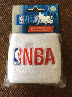 Authentic NBA wristbands
