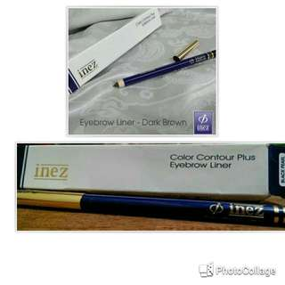 Inez eyebrow liner pencil dark brown
