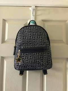 Authentic Tommy Hilfiger Signature Backpack