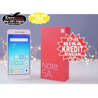 Kredit Low Dp 600 Xiaomi Note 5A 3/32Gb Resmi Promo Ditoko ktp+kk bisa wa;081905288895
