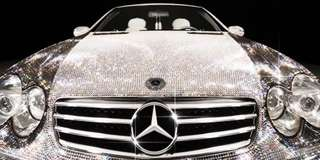 Car accessories bling crystal
