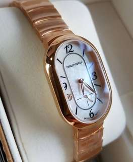 Philip Stein Modern Mini Rose Gold
