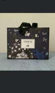 Erdem X H&M Paper Bag S Size