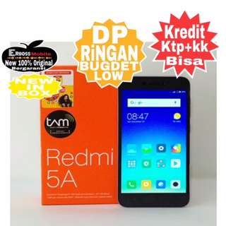 Kredit LOw Dp 500 Xiaomi 5A New 2/16Gb Resmi Promo Ditoko Ktp+kk bisa wa;081905288895