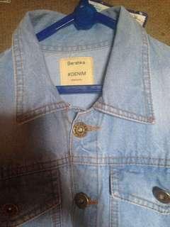 Jaket jeans bershka