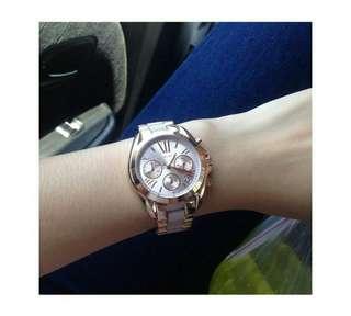 Michael Kors Bradshaw two-toned watch