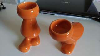 Two Candle Holders 蠟燭台