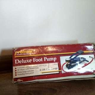 Deluxe Foot Pump