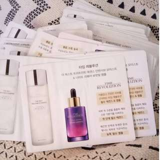 MISSHA TIME REVOLUTION ESSENCE AND NIGHT REPAIR AMPOULE TRIAL SACHET