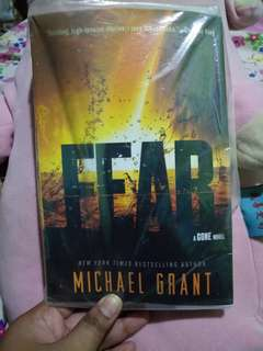 Fear a gone novel by Michael Grant