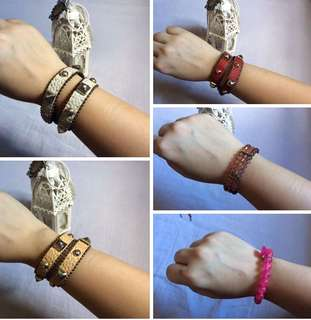 5 pcs bracelets