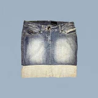 Calvin Klein Vintage Denim Skirt