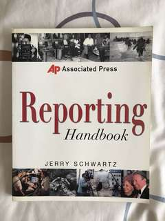 Associated Press Reporting Handbook by Jerry Schwartz