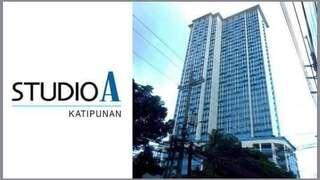 Studio A Katipunan 26sqm unit for rent