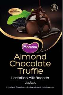 Almond Chocolate Truffle lactation snack