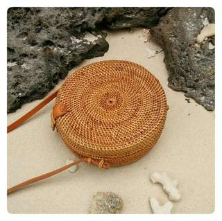 Last piece Bali roundie with snap button (code: January)