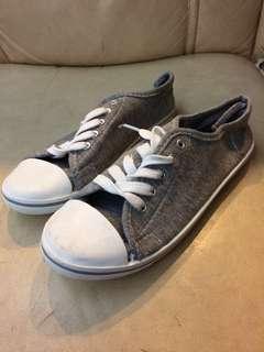 💯New灰色布鞋
