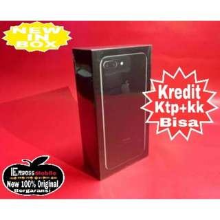 Iphone 7 plus 32gb Apple jblack-Cash/kredit Dp2jt Promo ditoko ktp+kk bisa wa;081905288895