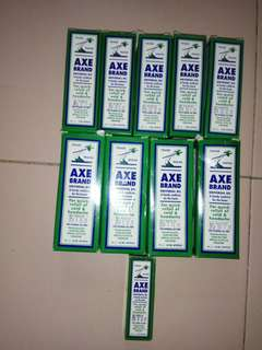 AXE Brand oil