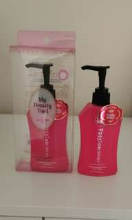La Rose Rounge..passion series..repair damaged hair shampoo n conditioner..