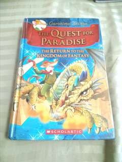 Geronimo Stilton The Quest for Paradise (the Return to the Kingdom of Fantasy)