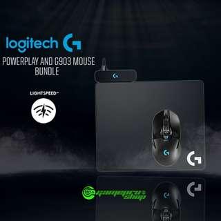 Logitech G903 Lightspeed Wireless Gaming Mouse/G Powerplay Wireless Charging System Bundle Offer $109 Off