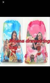 Instock moana drawstring bag brand new