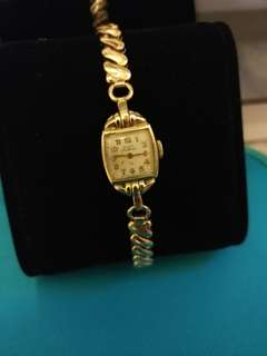 不議價 Final Price ➡Vintage Elgin Deluxe Ladies Watches (10K gold filled case) 古董女錶