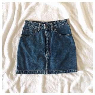 BigJohn vintage denim skirt (S/26)