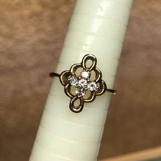 14K diamond ring 💍 鑽石戒指