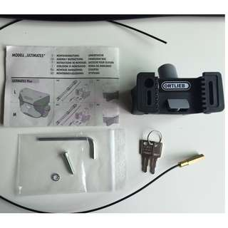 Ortlieb Mounting Set For Ultimate 5