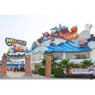 Melaka Wonderland Theme Park & Resort Voucher/ Tickets