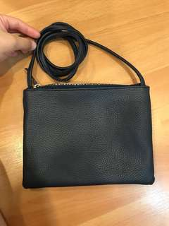 Cotton on sling bag/ clouch bag