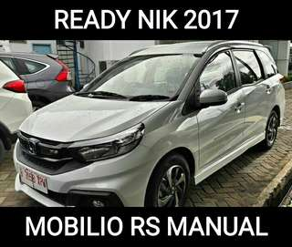 Ready Mobilio RS Manual 2017, Paket DP Minin