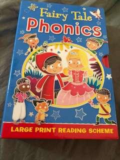 Bnib fairy tales phonics book (set of 4 books)