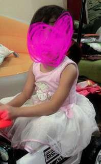 Ballerina pink dress