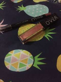 make over Liquid lip + lip liner