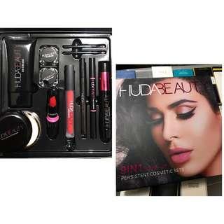 Huda Beauty 9 in 1 Persistence Cosmetics Makeup Set