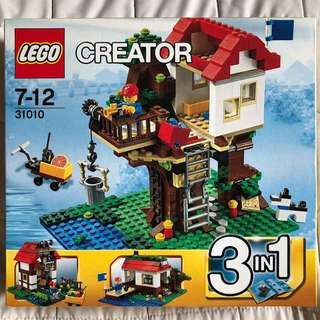 New Lego Creator 3-in-1 Treehouse 31010