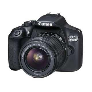 Canon EOS 1300D 18-55mm IS II Kamera DSLR Kredit tanpa DP