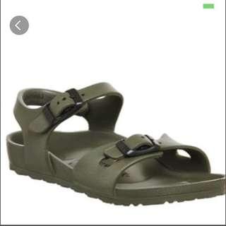 Birkenstock children/kids Eva rio khaki green Sandals
