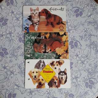 Cute Animals Friend MRT Card