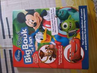 Disney Boy's Big Book of Fun