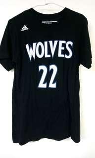 NBA 灰狼隊 Andrew Wiggins T-shirt