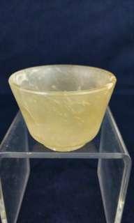 清代 - 玉石小杯
